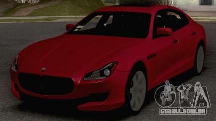 2015 Maserati Quattroporte GTS para GTA San Andreas