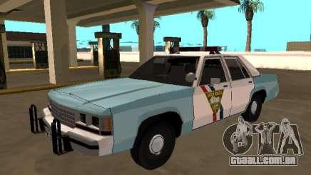 Ford LTD Crown Victoria 1991 South Dakota HP para GTA San Andreas