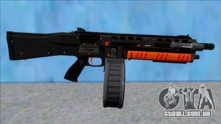 GTA V Vom Feuer Assault Shotgun Orange V11 para GTA San Andreas