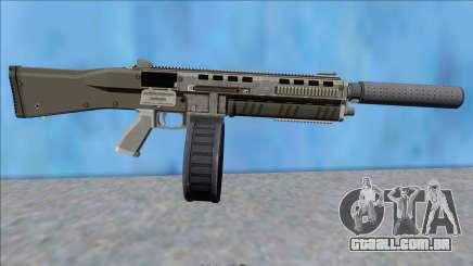 GTA V Vom Feuer Assault Shotgun Platinum V7 para GTA San Andreas