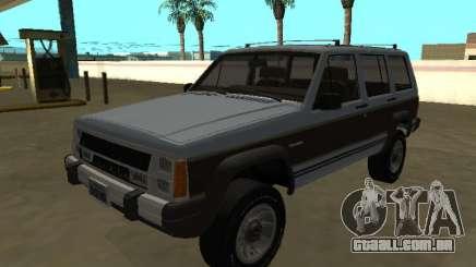 Jeep Cherokee Wagoneer Limited 1987 para GTA San Andreas
