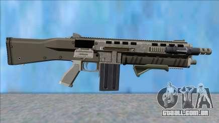GTA V Vom Feuer Assault Shotgun Platinum V6 para GTA San Andreas