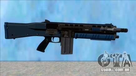 GTA V Vom Feuer Assault Shotgun LSPD V12 para GTA San Andreas