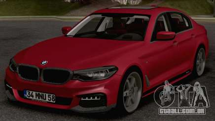 BMW 540i MPerformance para GTA San Andreas