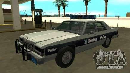 Ford LTD Crown Victoria 1987 Boston Police para GTA San Andreas