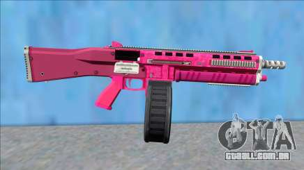 GTA V Vom Feuer Assault Shotgun Pink V14 para GTA San Andreas