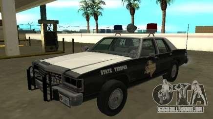 Ford LTD Crown Victoria 1987 Texas State Trooper para GTA San Andreas