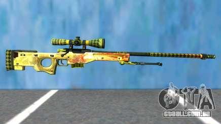 Dragon Lore (Sniper) para GTA San Andreas