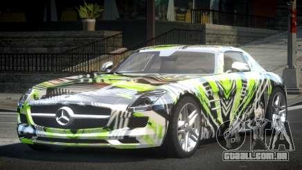 Mercedes-Benz SLS BS A-Style PJ5 para GTA 4