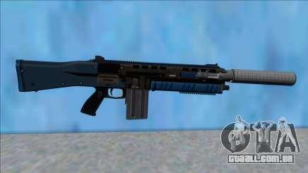 GTA V Vom Feuer Assault Shotgun LSPD V2 para GTA San Andreas