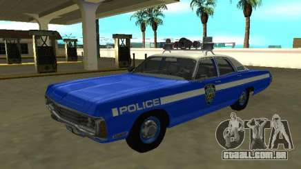 Dodge Polara 1972 New York Police Dept para GTA San Andreas