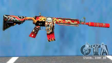 M4A4 Kill Confirmed para GTA San Andreas