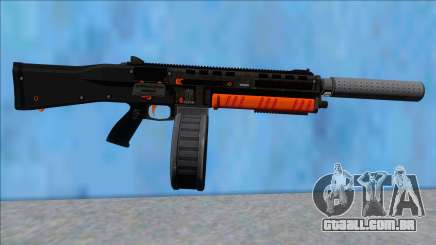 GTA V Vom Feuer Assault Shotgun Orange V7 para GTA San Andreas