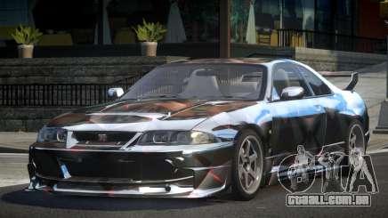 1997 Nissan Skyline R33 L8 para GTA 4