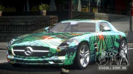 Mercedes-Benz SLS BS A-Style PJ1 para GTA 4
