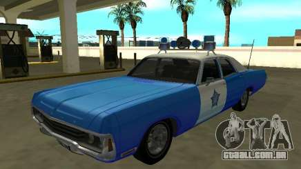 Dodge Polara 1972 Chicago Police Dept para GTA San Andreas