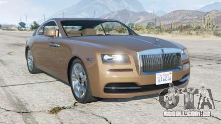 Rolls-Royce Wraith 2013 para GTA 5