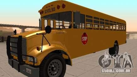 Vapid School Bus (Benson do GTA IV) para GTA San Andreas