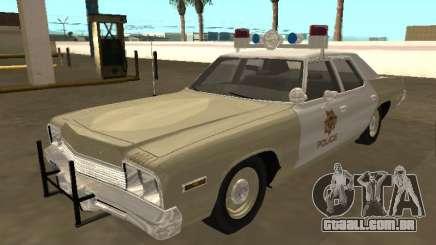 Dodge Monaco 1974 Las Vegas Metro Police para GTA San Andreas