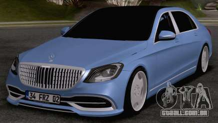 Mercedes-Benz Maybach S560 para GTA San Andreas