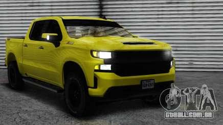 Chevrolet Silverado Trailboss Z71 2020 para GTA San Andreas