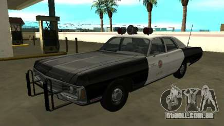 Dodge Polara 1972 Los Angeles Police Dept para GTA San Andreas