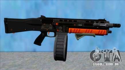 GTA V Vom Feuer Assault Shotgun Orange V5 para GTA San Andreas