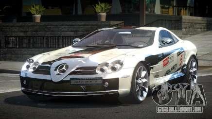 Mercedes-Benz SLR R-Tuning L5 para GTA 4