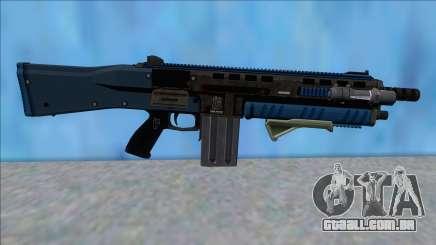 GTA V Vom Feuer Assault Shotgun LSPD V6 para GTA San Andreas