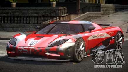 Koenigsegg Agera PSI L6 para GTA 4