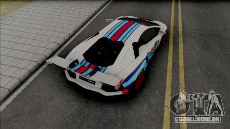 Lamborghini Aventador Limited Edition para GTA San Andreas