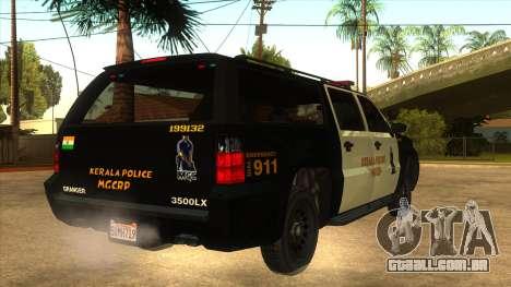 MGCRP Police Car Mod para GTA San Andreas