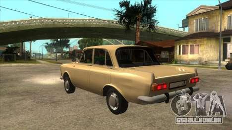 Moscovita 412 77RUS para GTA San Andreas