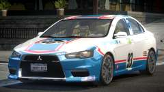 Mitsubishi Lancer X PSI-R L6 para GTA 4