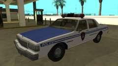 Chevrolet Caprice 1987 New York Transit Police para GTA San Andreas
