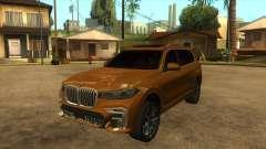 BMW X7 M50D para GTA San Andreas