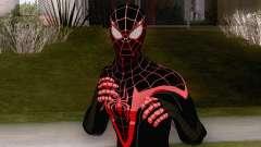 Spiderman Miles Morales Classic Suit para GTA San Andreas