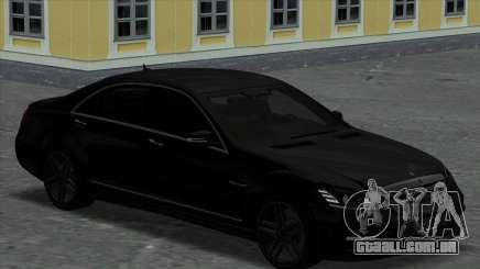Mercedes-Benz S65 W221 Black para GTA San Andreas
