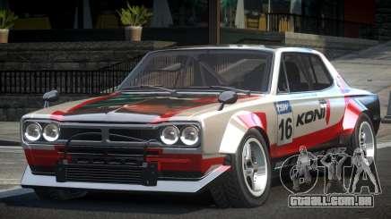 1977 Nissan Skyline KGC10 GT L5 para GTA 4
