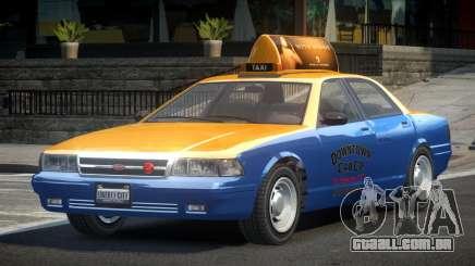 Vapid Stanier 2nd Gen Downtown Cab para GTA 4