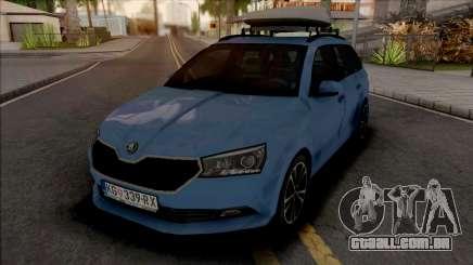 Skoda Fabia Estate 2020 para GTA San Andreas