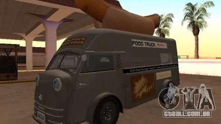 Tempo Matador 1952 HotDog Van para GTA San Andreas