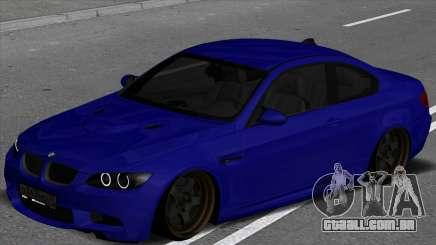 BMW M3 E92 Low para GTA San Andreas