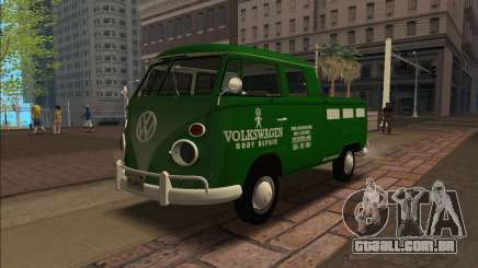 Volkswagen Kombi Tipo 2 1500 Pick-Up 1972 para GTA San Andreas