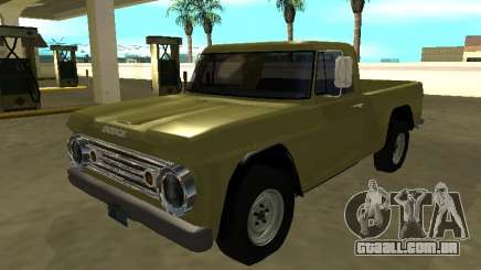 Dodge D-100 1966 para GTA San Andreas