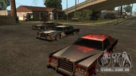 3 novas Paint Jobs de caveira para Remington para GTA San Andreas