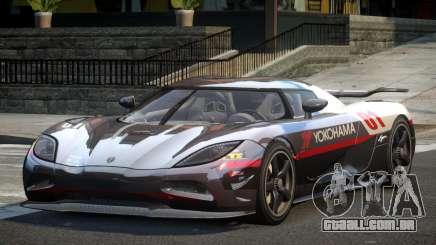 Koenigsegg Agera BS-G L6 para GTA 4