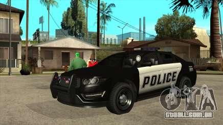 Interceptador de Polícia Vapid MGCRP para GTA San Andreas