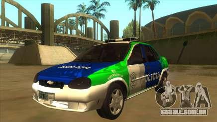Chevrolet Corsa Polícia Bonaerense para GTA San Andreas