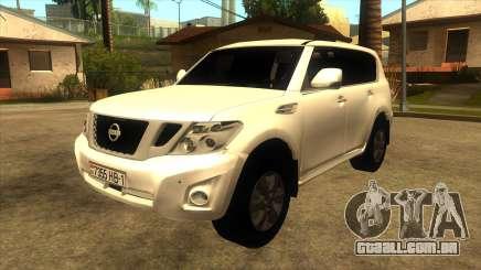 Nissan Patrol Y62 para GTA San Andreas